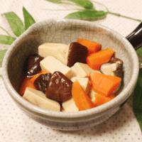 うまみがジュワ〜!基本の高野豆腐煮