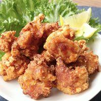キムチ味の鶏のから揚げ