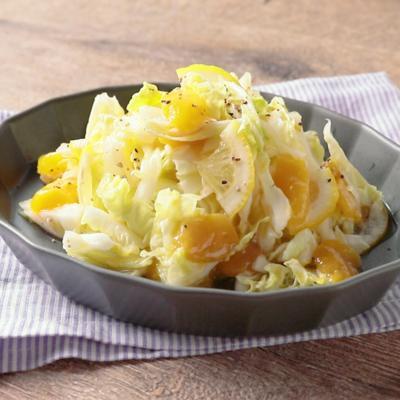 白菜のマンゴーレモンサラダ