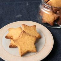 小麦粉不使用 サクッとホロッとクッキー