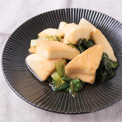 はんぺんと小松菜のさっと煮