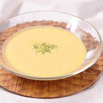 甘くておいしい かぼちゃの冷製スープ