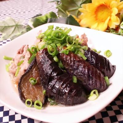 簡単!茄子と豚肉の煮浸し