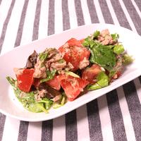 簡単!和えるだけ! トマトとツナのさっぱりサラダ