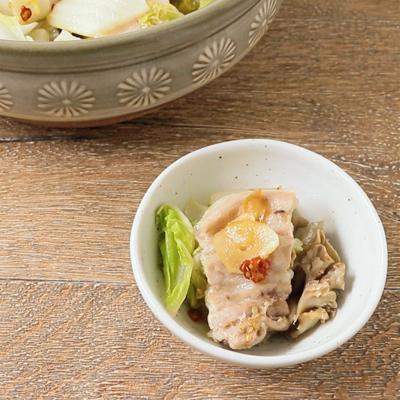 豚バラ肉と白菜のピリ辛鍋