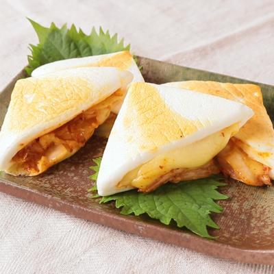 キムチとチーズのはんぺんサンド