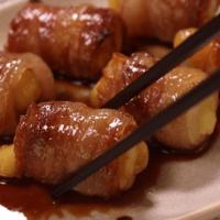 節約で美味しい!ちーちくの豚肉巻き