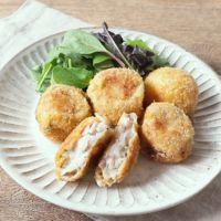 里芋とベーコンの和風チーズコロッケ