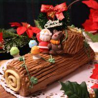 クリスマスを代表するケーキ!ブッシュドノエル