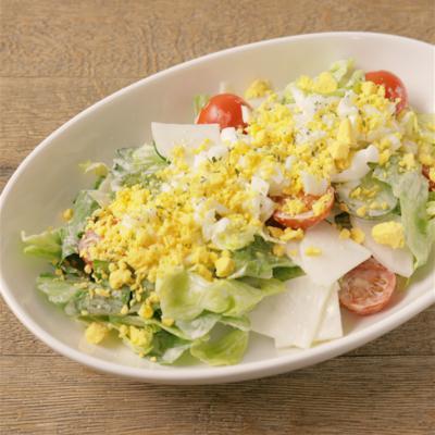 ミモザ風!お野菜たっぷり混ぜるサラダ