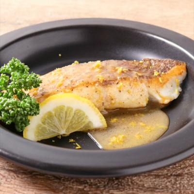 鯛のソテーレモンバターソース