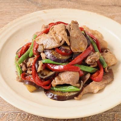 焼肉のタレで 豚こま肉とたっぷり野菜の炒め物