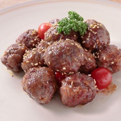 牛肉のコロコロ生姜焼き