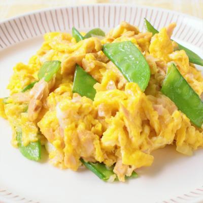 卵とツナのバター炒め