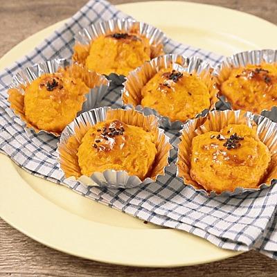 トースターで簡単に かぼちゃのスイートポテト風