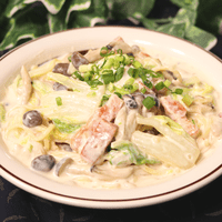 冬に嬉しい!白菜とベーコンの和風クリームパスタ