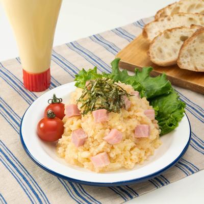 レンジで簡単!とろ〜りチーズのタラモサラダ
