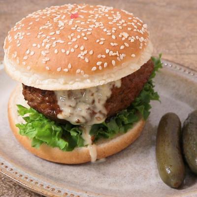 照り焼きハンバーガー