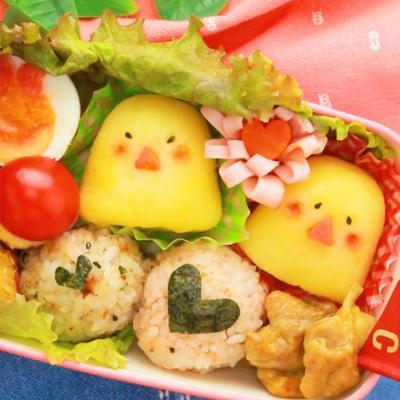 かわいい ひよこポテトサラダ
