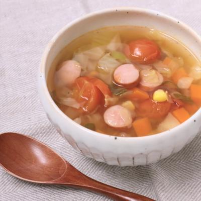 野菜たっぷり 具だくさんスープ