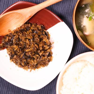 ごはんが進む!生姜と海苔の佃煮