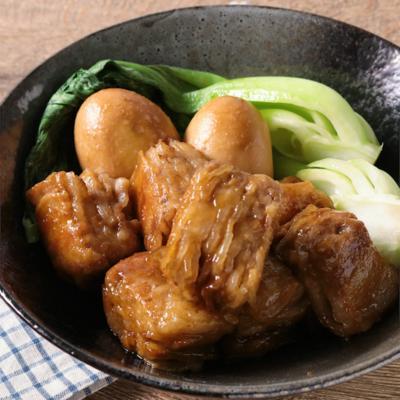 焼肉のたれで簡単に 豚バラ薄切り肉の角煮風