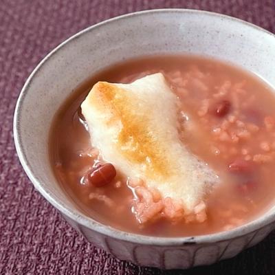 餅入り小豆粥の作り方