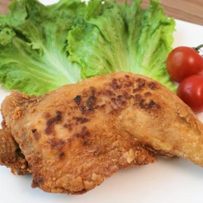 骨付き肉でちょっと贅沢 鶏もも肉の唐揚げ