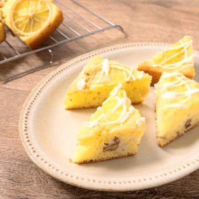レモンのホワイトチョコブラウニー