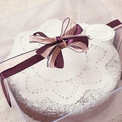 ショコラ ラッピング ガトー ガトーショコラのラッピング!カットケーキをおしゃれに包装♪ |