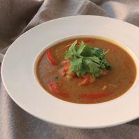 カレールーでエビのスープカレー ココナッツ風味
