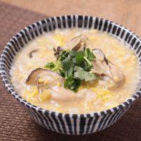 牡蠣のたまご雑炊
