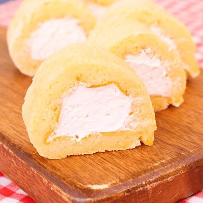 卵焼き器で作る!ミニロールケーキ