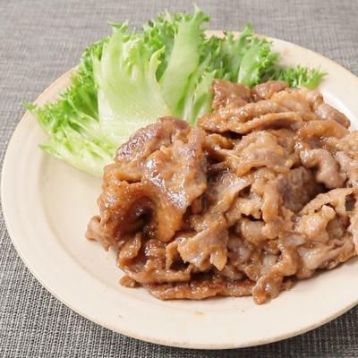 梅香る 豚肉のさっぱり炒め