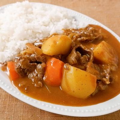 牛肉と野菜の米粉カレー