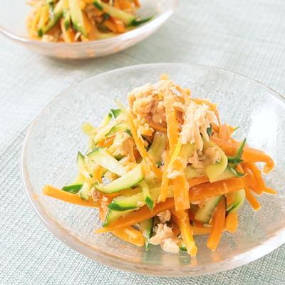 ツナときゅうりの中華サラダ