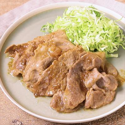簡単おいしい 豚肉のおろし玉ねぎダレ