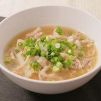 長芋とえのきのとろーり和風スープ