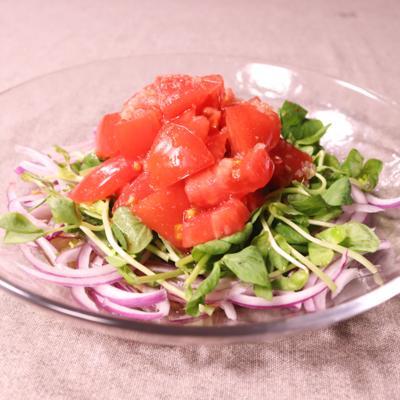 タイ風トマトサラダ