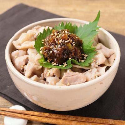 旨辛 青唐味噌の豚丼