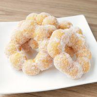 白玉粉とHMで もっちもちドーナツ