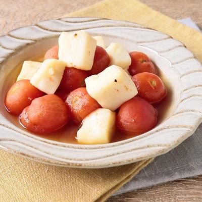はんぺんとミニトマトのさっと煮
