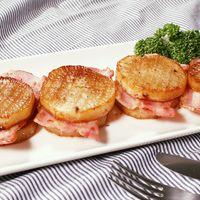 大根とベーコンのガーリックバター醤油ステーキ
