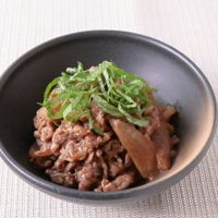 牛肉の梅しぐれ煮
