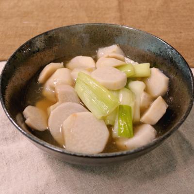 里芋と長ネギのとろとろ煮