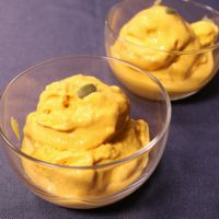 食後のデザートに!かぼちゃのアイス