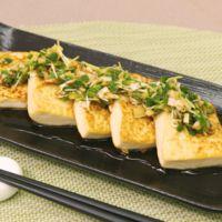 シンプルが美味しい!サッパリ焼き豆腐