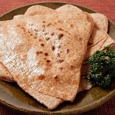 全粒粉のインドパン パラタ