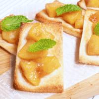 焼きリンゴのトースト