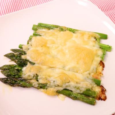 簡単!アスパラガスのチーズ焼き